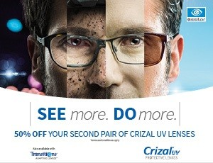 c040c93831 letter essilor promo adjusted Starting 1st March we are offering with our  Lens Partner Essilor a second set of Crizal UV lenses half price when you  purchase ...