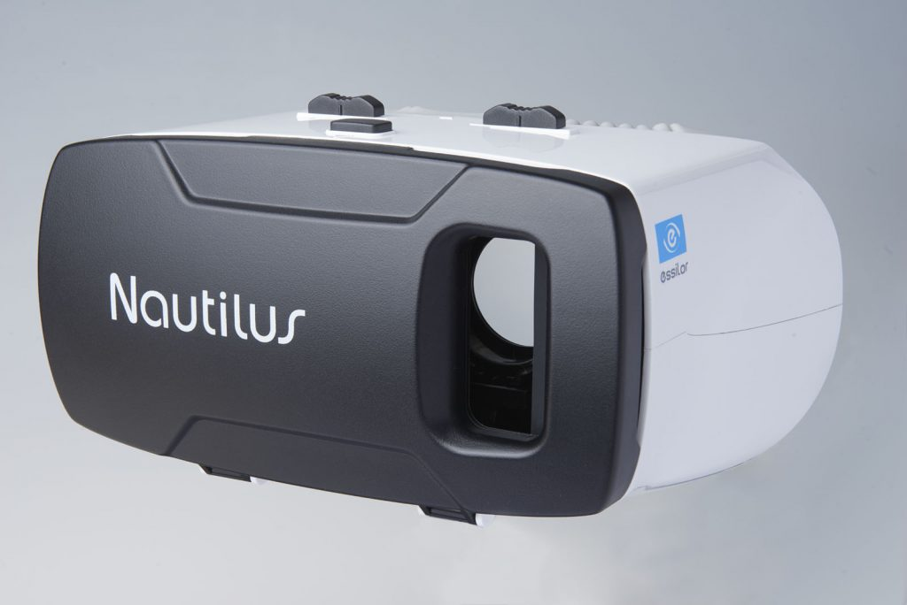 Nautilus virtual reality headset